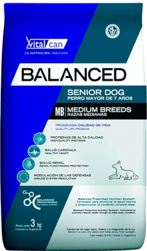Vital Can  Balanced Senior Raza Mediana
