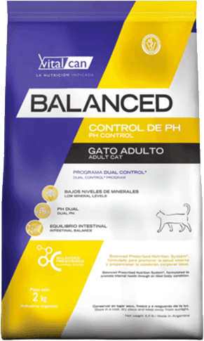 Vital Can  Balanced Gato Control de PH