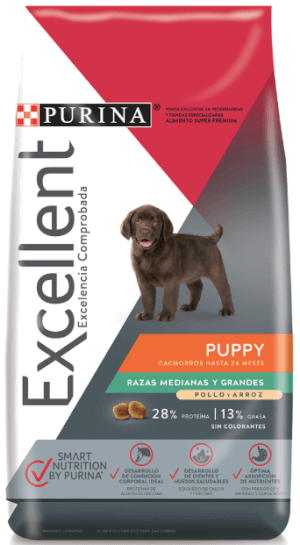 Purina Excellent  Puppy Medium/Large Breed CH&R