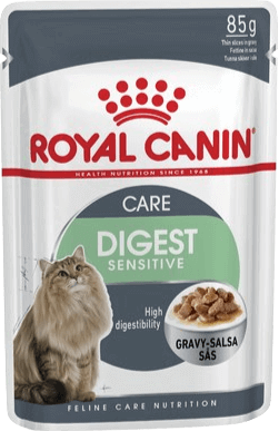 Royal Canin  Pack x 12 Sobrecitos Digest Sensitive (Pouch Gato) x 85 gr