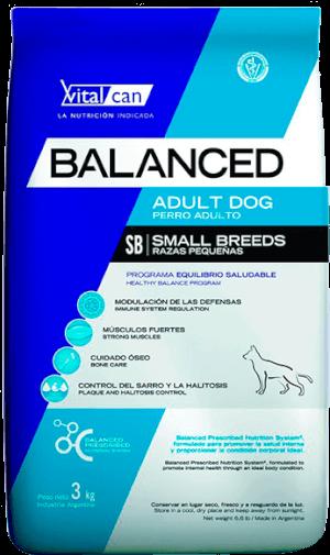 Vital Can  Balanced Adulto Raza Pequeñas