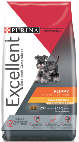 Purina Excellent  Puppy Small Breed CH&R