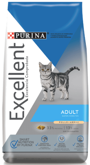 Purina Excellent  Adult Cat Chicken & Rice