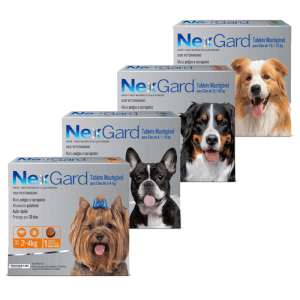 Nexgard  Nexgard Antipulgas Comprimidos (Perros)