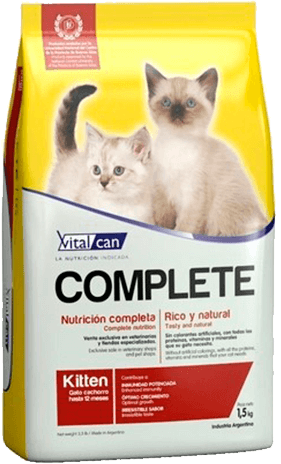Vital Can  Complete Kitten Gato