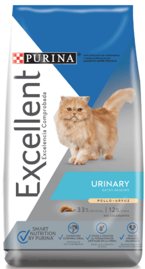 Purina Excellent  Urinary Cat CH&R