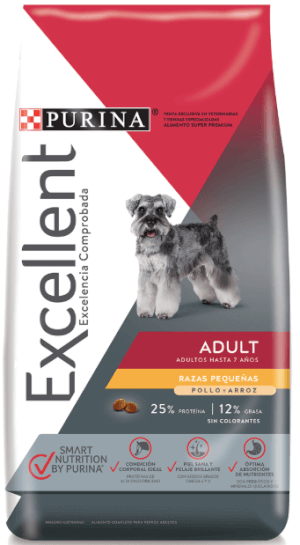 Purina Excellent Adult Small Breed Chicken & Rice
