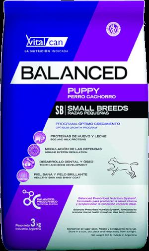 Vital Can  Balanced Cachorro Razas Pequeñas
