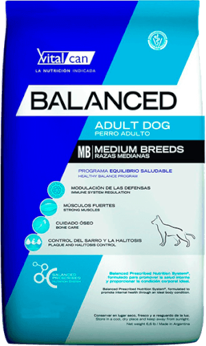 Vital Can  Balanced Adulto Raza Mediana