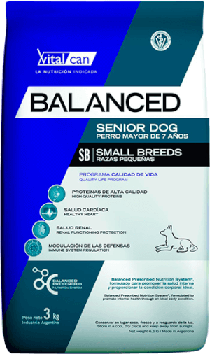 Vital Can  Balanced Senior Small Breeds